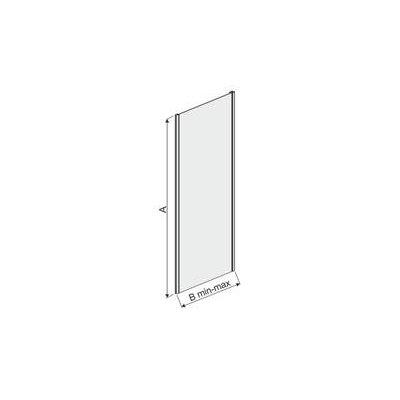 Ścianka prysznicowa 90 cm 600271132038371 Sanplast TX
