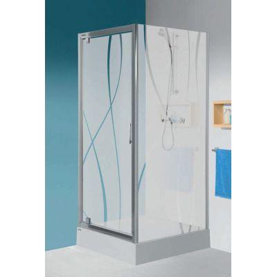 Ścianka prysznicowa 80 cm 600271131039401 Sanplast TX