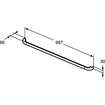 Uchwyt R4360AA Ideal Standard Tonic II