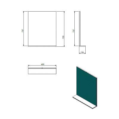 Lustro 60x75 cm X000000932 Ravak Rosa II