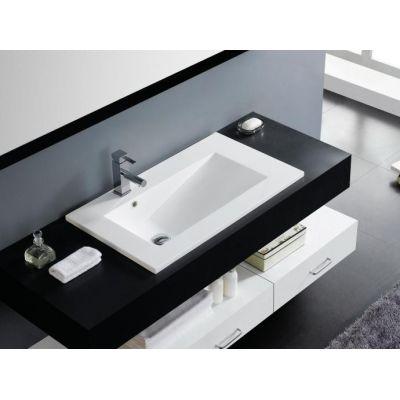 Umywalka prostokątna 100x45 cm 0568 Bathco Spain Tecno