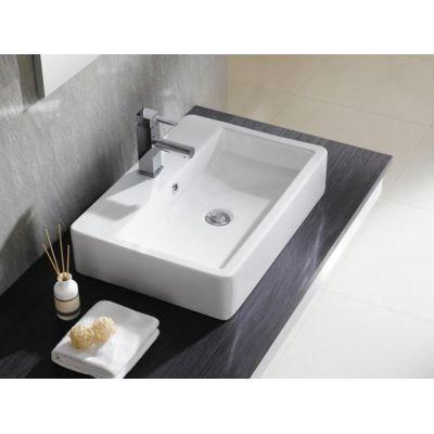 Umywalka prostokątna 60x42 cm 4064 Bathco Spain Santander