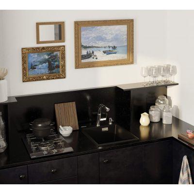 Zlewozmywak granitowy 50x40 cm ZQEN104 Deante Eridan