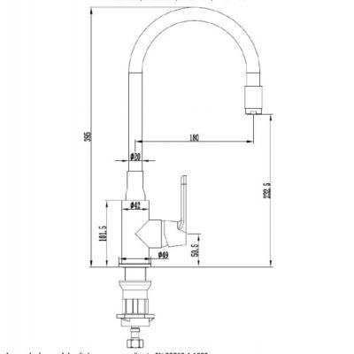 Bateria kuchenna BZ32P04 Invena Joga Plus