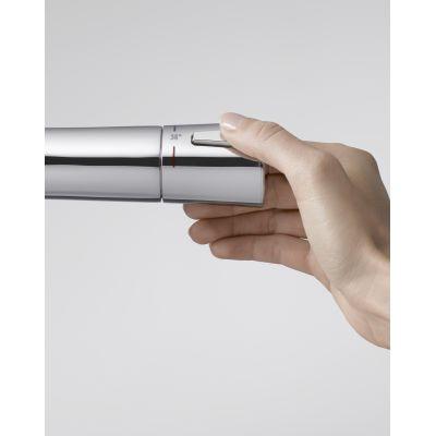 Bateria wannowo-natryskowa ścienna termostatyczna Zenta Kludi 351010538 chrom