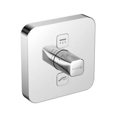 Bateria prysznicowa podtynkowa 387110538 Kludi Push