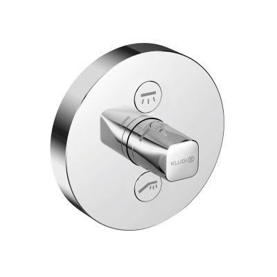 Bateria prysznicowa podtynkowa 387120538 Kludi Push