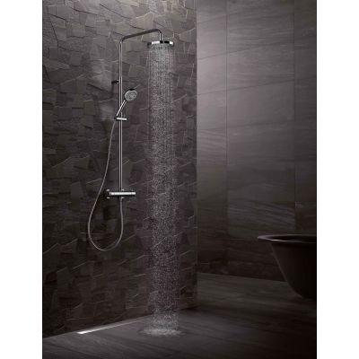 Zestaw natryskowy z termostatem Dual Shower Kludi 6609505-00 chrom