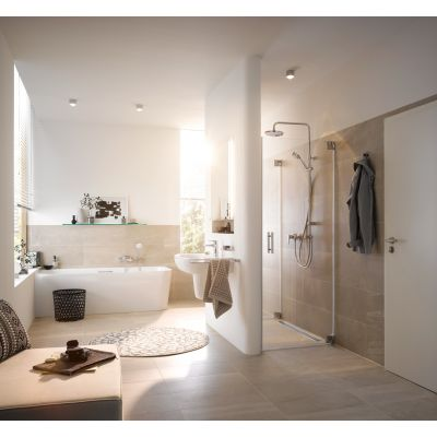 Zestaw prysznicowy 680910500 Kludi Dual Shower System