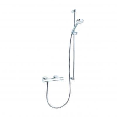Zestaw prysznicowy 685780500 Kludi Logo Shower Duo