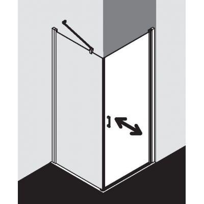 Drzwi prysznicowe uchylne CK1KR07520VPK Kermi Cada XS CK1KR/L