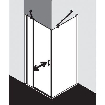 Drzwi prysznicowe uchylne CK1NL09020VPK Kermi Cada CK1NR/L