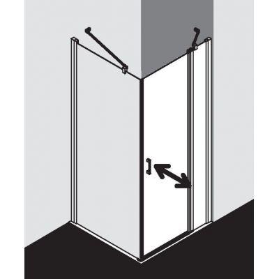 Drzwi prysznicowe uchylne CK1NR11020VPK Kermi Cada CK1NR/L