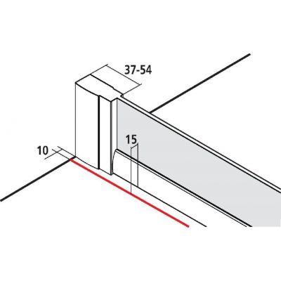 Ścianka prysznicowa 90 cm CKTWR09020VPK Kermi Cada XS CKTWR/L