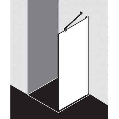 Ścianka prysznicowa 110 cm CKTWR11020VPK Kermi Cada XS CKTWR/L