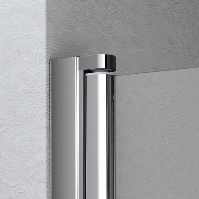 Ścianka prysznicowa walk-in 80 cm LI2YL08020VPK Kermi Liga LI 2Y