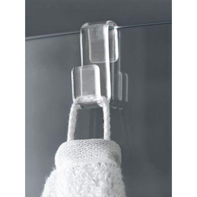 Drzwi prysznicowe rozsuwane NID2L110203PK Kermi Nica czarna NID2R/L