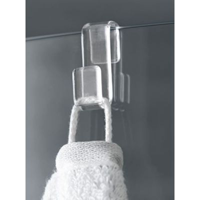 Drzwi prysznicowe rozsuwane NID2R150203PK Kermi Nica czarna NID2R/L