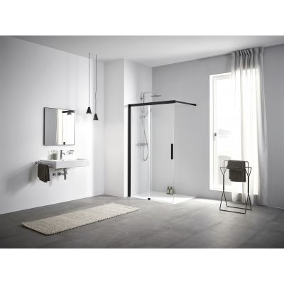 Ścianka prysznicowa walk-in 140 cm NIJ2L140203PK Kermi Nica NI J2
