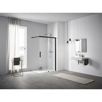 Ścianka prysznicowa walk-in 110 cm NIJ2R110203PK Kermi Nica NI J2