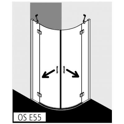 Kabina prysznicowa OSE5510120VPK Kermi Osia OS E55
