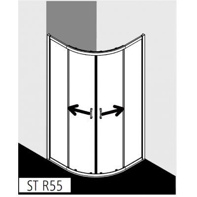 Kabina prysznicowa STR5509019VPK Kermi Stina STR55