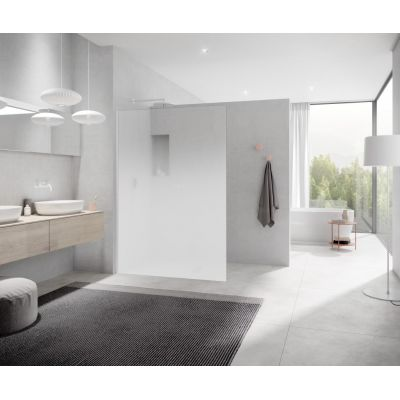 Ścianka prysznicowa walk-in 118 cm XCWIO1202044K Kermi White Line XC
