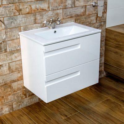 Szafka z zestawu łazienkowego wisząca podumywalkowa 50x39.5 cm 5908442930983 LaVita Floryda