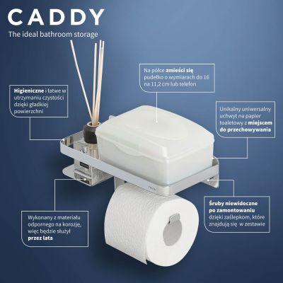 Uchwyt na papier toaletowy 1401430346 Tiger Caddy