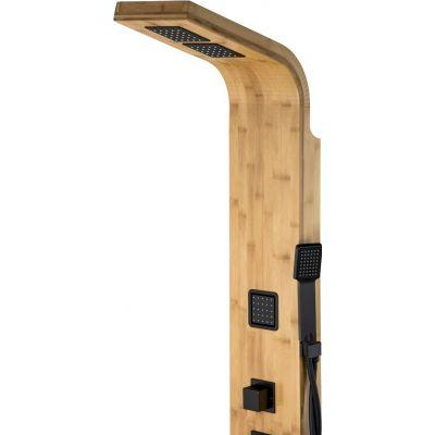 Panel prysznicowy B022MBAOCZARNY Corsan Bao