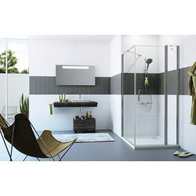 Ścianka prysznicowa 90 cm C23609069322 Huppe Classics 2 4-kąt