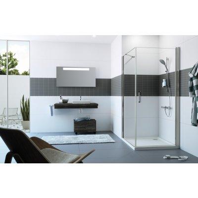 Drzwi prysznicowe C23402069322 Huppe Classics 2 4-kąt