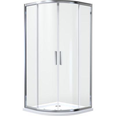 Kabina prysznicowa półokrągła 80x80 cm 20101100 Oltens Vorma
