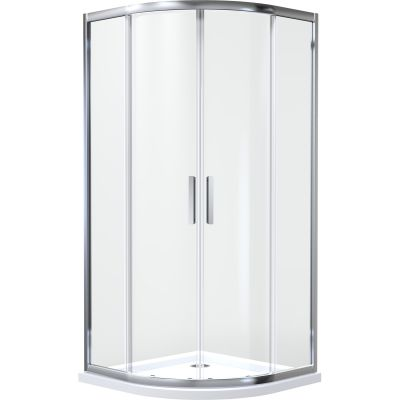 Kabina prysznicowa półokrągła 90x90 cm 20102100 Oltens Vorma
