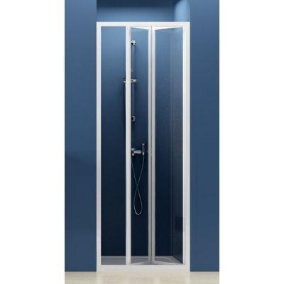 Drzwi prysznicowe Supernova SDZ2-70 RAVAK 01V10100Z1 profil biały szkło transparent