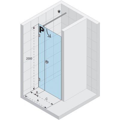 Drzwi prysznicowe GX0712001 Riho