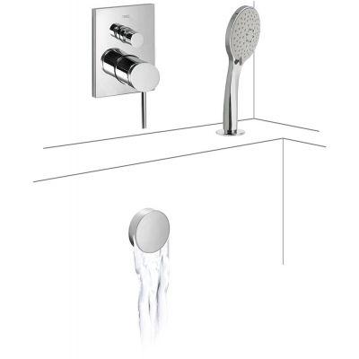 Zestaw prysznicowy 06218012 Tres Mono-Term