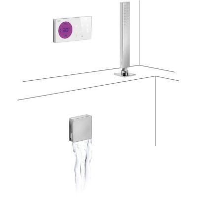 Zestaw prysznicowy 09286571 Tres Shower Technology