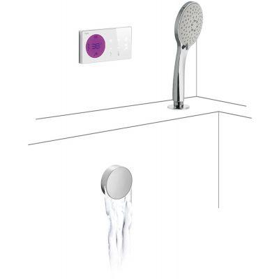 Zestaw prysznicowy 09286573 Tres Shower Technology