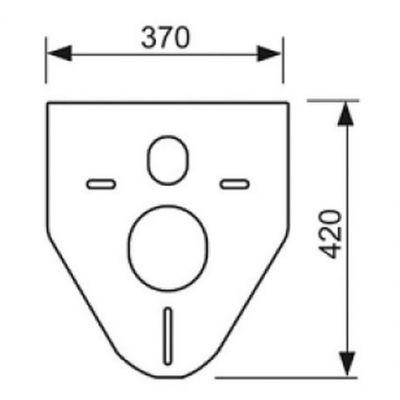 Uszczelka stelaża 9200010 Tece Profil