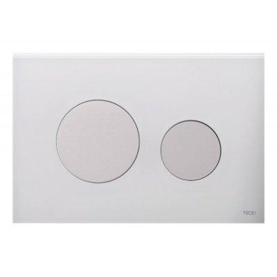 Przycisk spłukujący do wc biały 9240650 Tece Loop