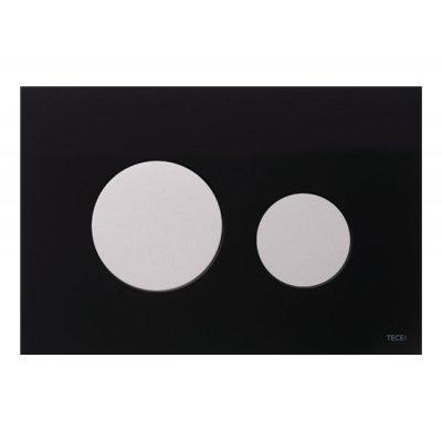 Przycisk spłukujący do wc czarny 9240654 Tece Loop