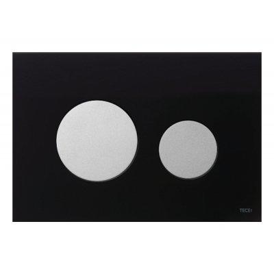 Przycisk spłukujący do wc czarny 9240655 Tece Loop
