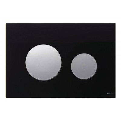 Przycisk spłukujący do wc czarny 9240656 Tece Loop