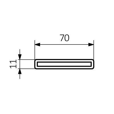 Grzejnik łazienkowy 180x45.5 cm WGARG045180K916YL Terma Aero HG