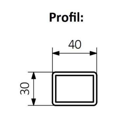 Grzejnik łazienkowy 20x128 cm WZEAN128020K916S1U Terma Easy