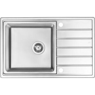 Zlewozmywak stalowy 78x50 cm ZPA0113 Deante Avior